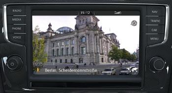 VW Golf GTD Monitor