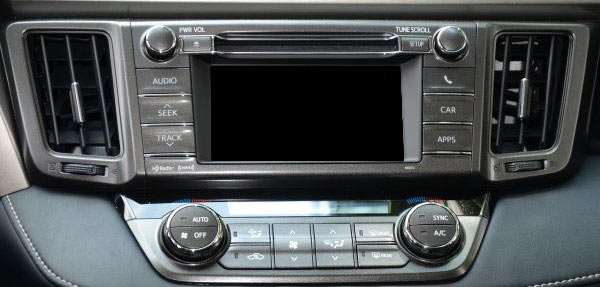 Toyota Touch monitor