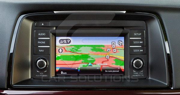 Штатный монитор Mazda 6