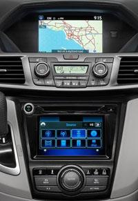 Honda Odyssey monitor