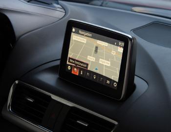 Mazda 3 Monitor