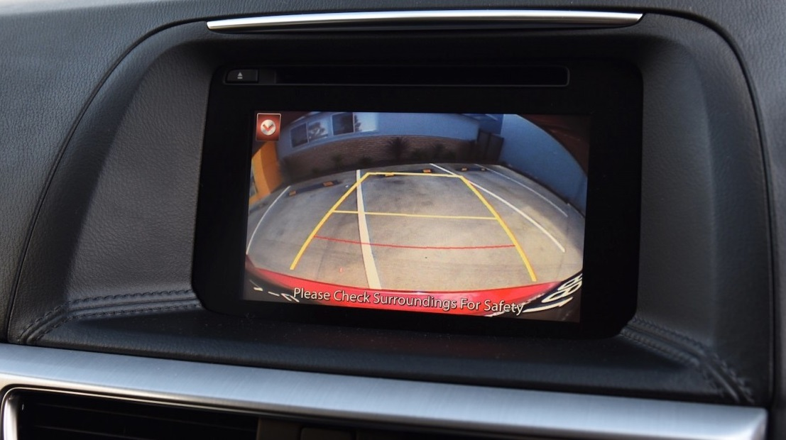 Mazda CX-5 head unit