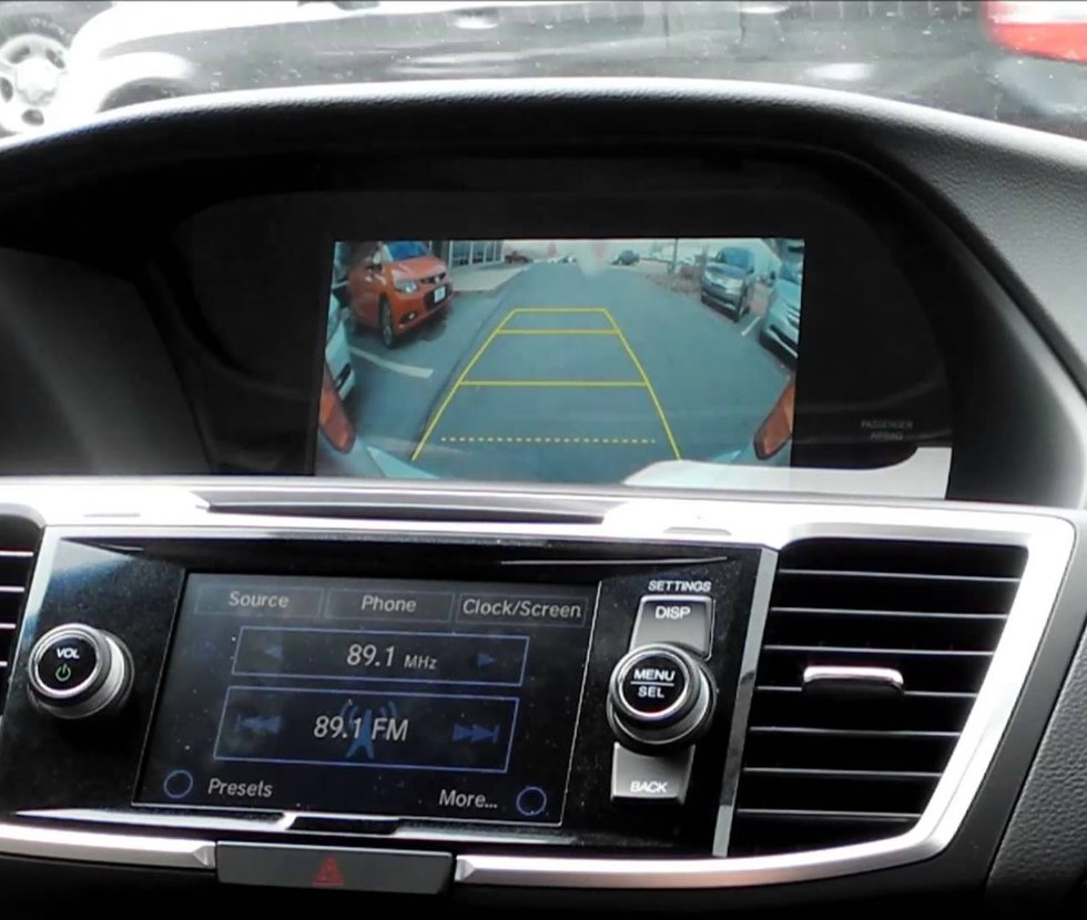 Honda rear view camera image 1