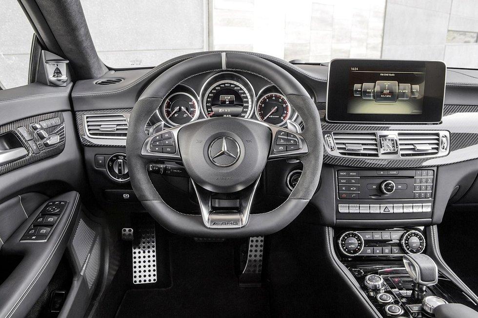 Mercedes-Benz CLS head unit