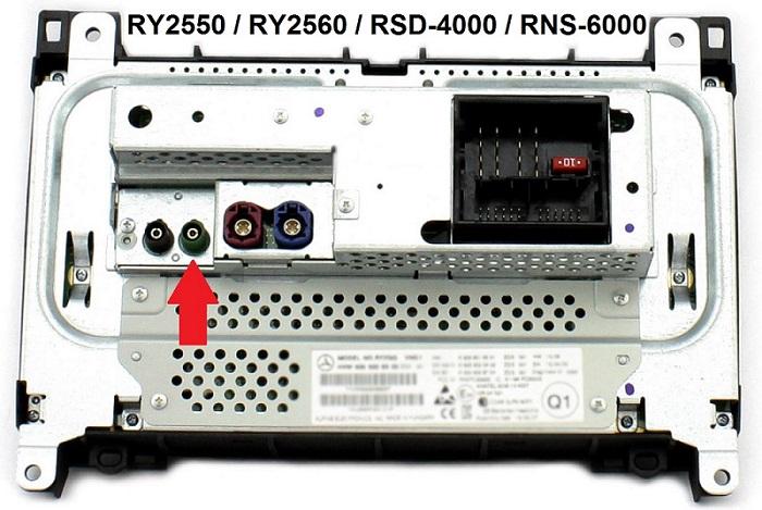 Volkswagen RSD4000 RNS6000