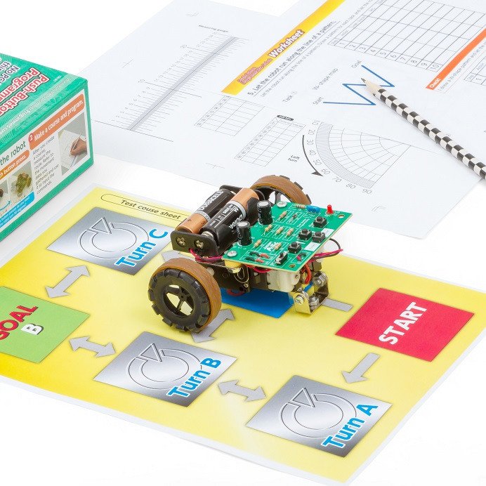 Artec Push-Button Programmable Robot