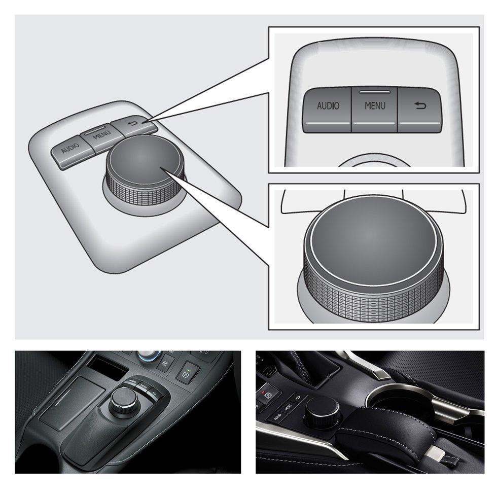 Lexus joystick