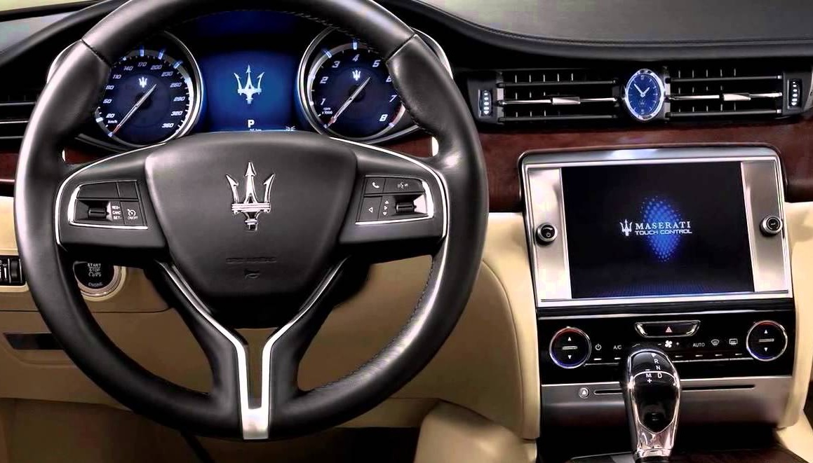 Maserati head unit