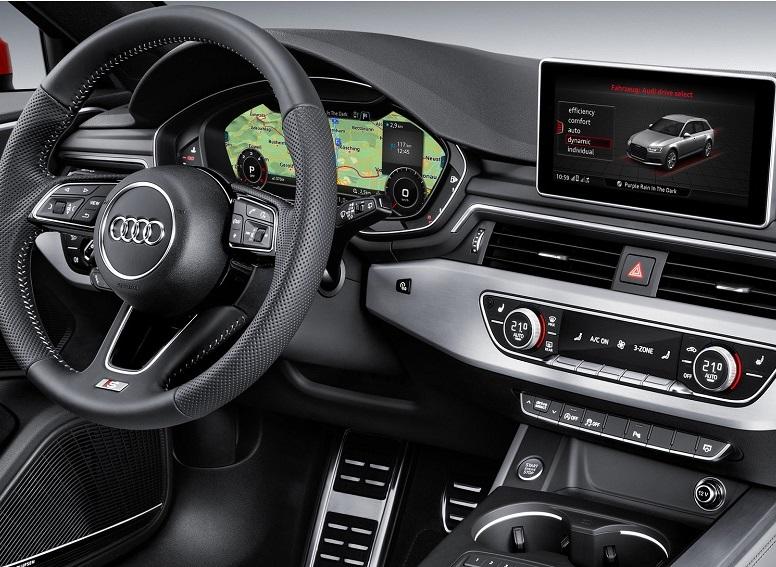Audi head unit