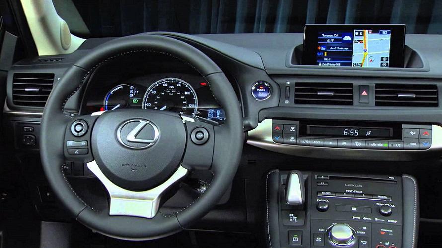 Lexus head unit
