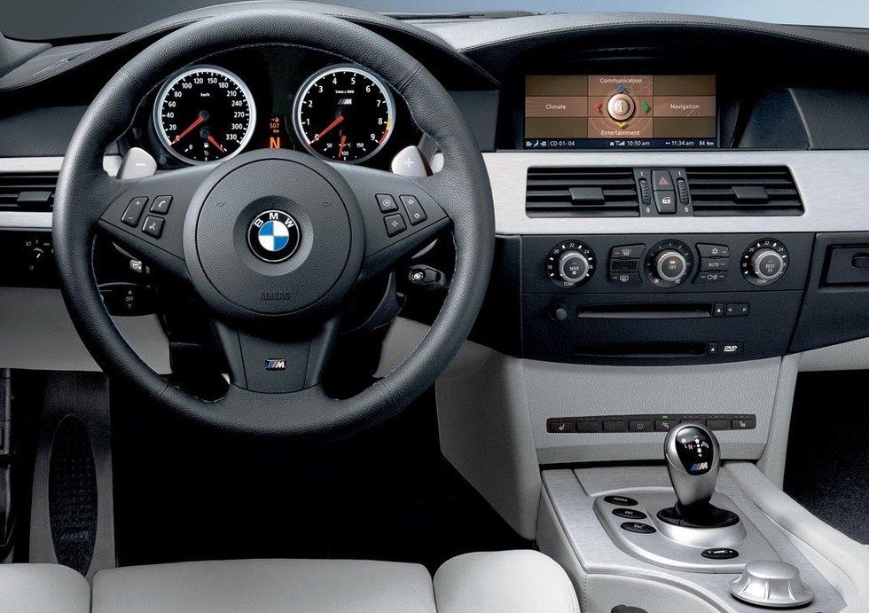 Головное устройство BMW