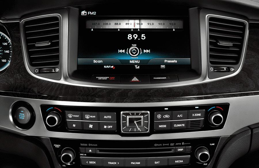Головное устройство Hyundai