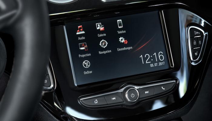 Монітор Opel Intellilink