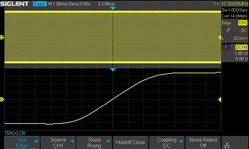 Oscilloscope SIGLENT Function 1