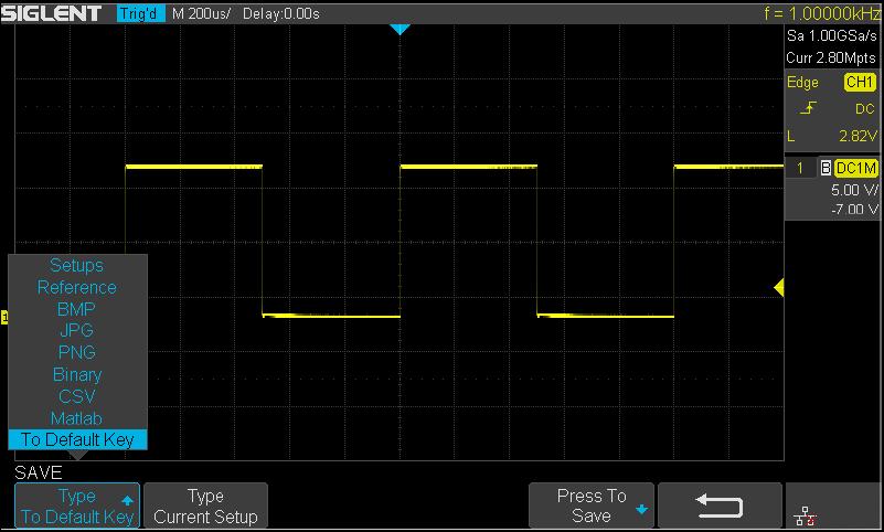 Oscilloscope SIGLENT Function 11