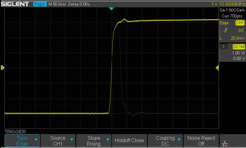 Oscilloscope SIGLENT Function 2