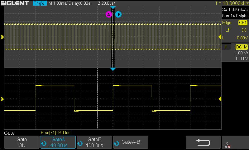 Oscilloscope SIGLENT Function 8