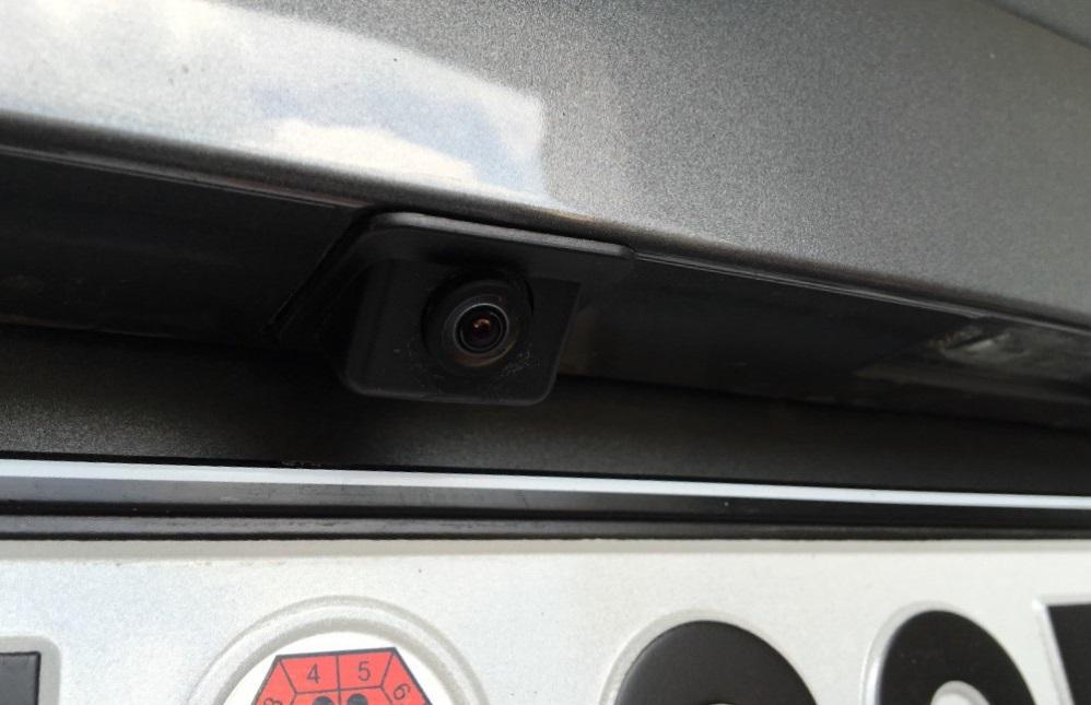 Установленная камера