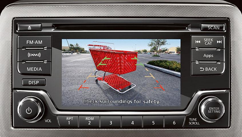 Nissan Audio US 5 inch display