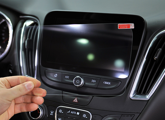 Protective glass for touch screen panels of Chevrolet cars