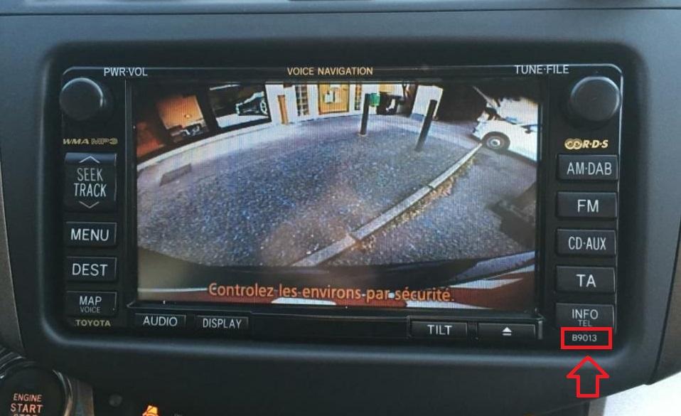 Монітор Toyota B9013