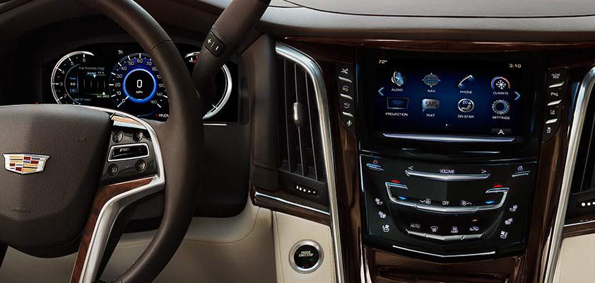 Головний пристрій Cadillac