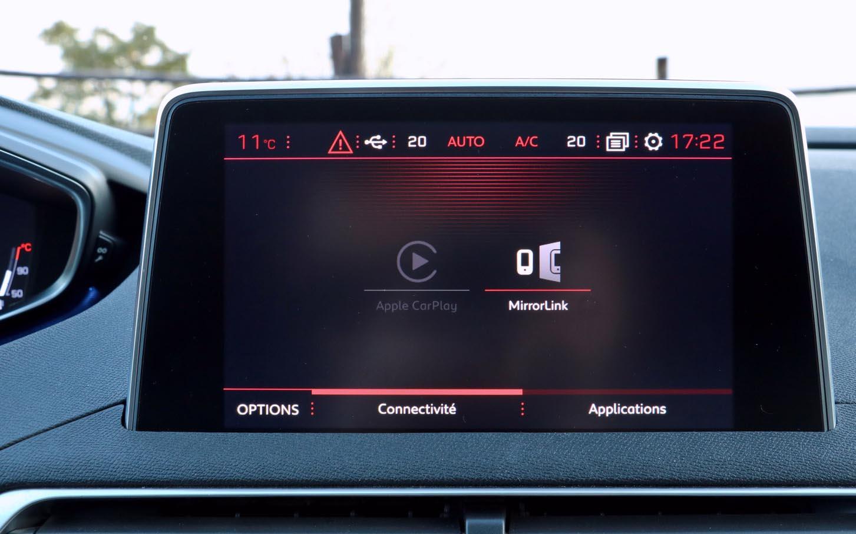 Peugeot 3008 monitor