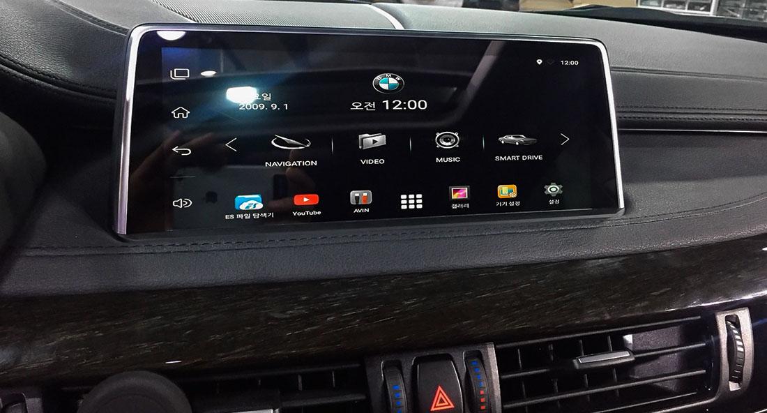 BMW monitor