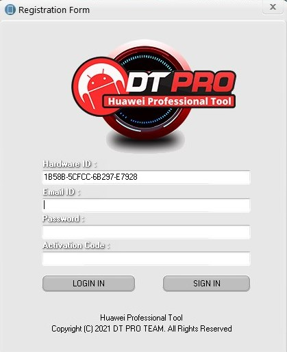 How to activate DT Pro Tool