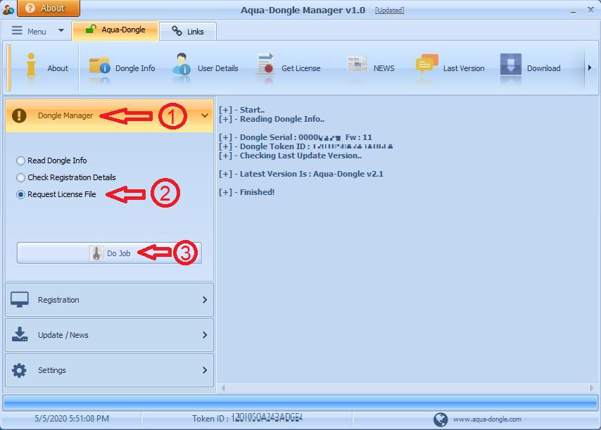 Request License File