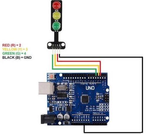 LED-модуль для Arduino Светофор