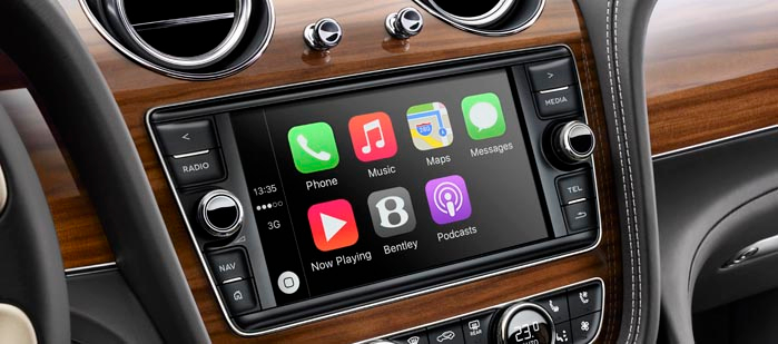Bentley CarPlay