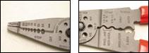 Multi-Purpose Crimping & Stripping Tool Pro'sKit 8PK-CT009